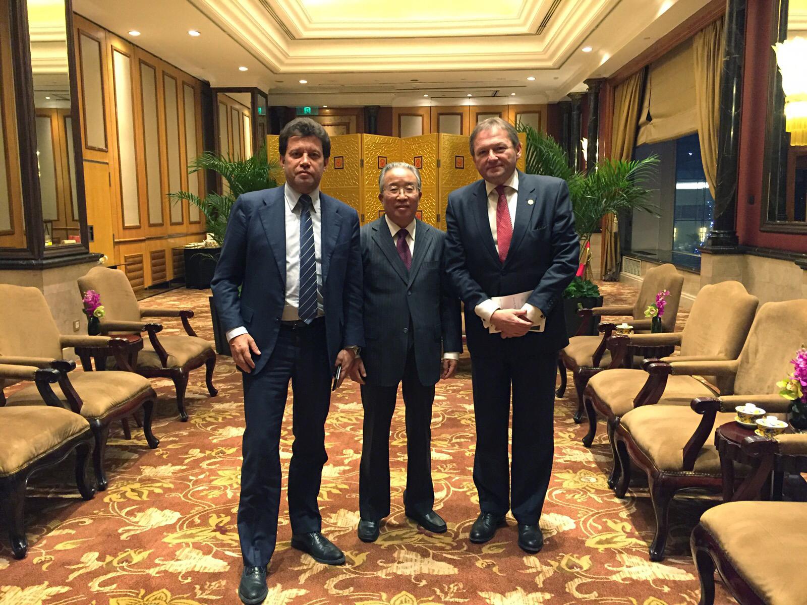 Встреча с Сопредседателем Комитета господином Дай Бинго