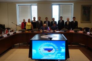 第一成美医疗集团与俄罗斯国家医疗委员会、中俄友好和平发展委会国际儿童医疗康复中心项目合作签约仪式1 (1)
